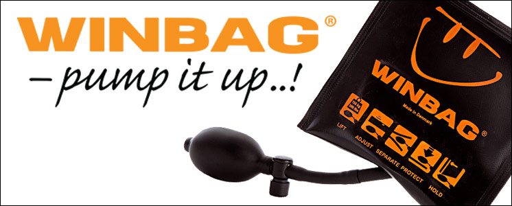 WINBAG - pump it up – inflatable reusable shims